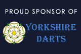 Proud sponsor of Yorkshire Darts
